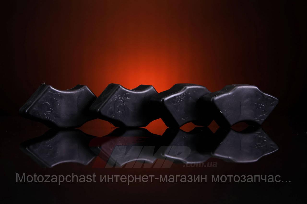 Демпферные резинки Дельта чёрные ТММР
