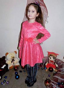 """Детское нарядное платье """"Барби"""" в расцветках (58-""""Барби"""")"""