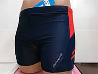 Плавки-шорты мужские Atlantis синий с красным