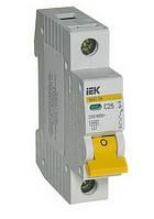 Автоматический выключатель IEK ВА47-29 1P 25A 4.5кА