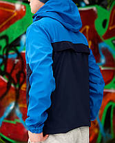 Куртка анорак Nike синяя топ реплика, фото 2