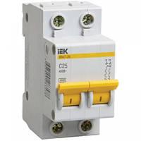 Автоматический выключатель ВА47-29 2P  16A 4,5кА х-ка C IEK