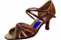 Туфли для танцев  женские Латина 24,0(38р) натуральная кожа