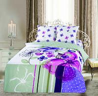 Комплект постельного белья двуспальный ТМ Романтика, Эстель, люкс перкаль, лучшая цена!