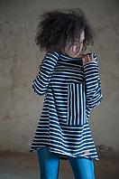 Туника блуза MARINE из хлопка, коллекция весна 2017
