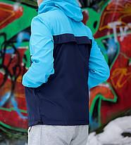 Анорак Nike President голубой  топ реплика, фото 2