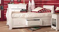 Односпальная кровать с ящиками - Иоланта, фото 1
