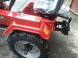 Мототрактор DW 160LX (16 л. с., колеса 5,00-12/6,5-16, с гидравликой), фото 3