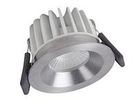 Светодиодный диммируемый светильник Spot LED fix 8W 3000K 620 Lm IP44 DIM OSRAM серебро