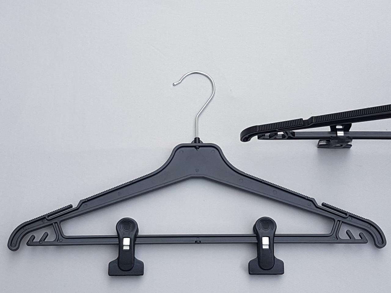 Плечики вешалки тремпеля Marc-Th WPN42-P черного цвета, длина 42 см