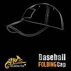 Бейсболка Folding® - PolyCotton Ripstop - Black, фото 2