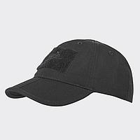 Бейсболка - Folding® - PolyCotton Ripstop - черная   CZ-BBF-PR-01