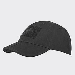 Бейсболка Folding® - PolyCotton Ripstop - Black