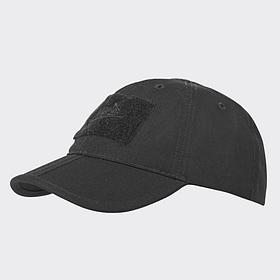 Бейсболка - Folding® - PolyCotton Ripstop - черная ||CZ-BBF-PR-01