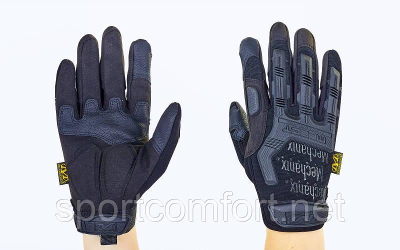 Перчатки тактические Mechanix Mpact весна/осень BK