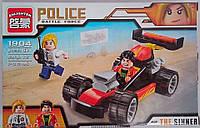 Конструктор Пластмассовый Полиция 95 дет. 1904+ Brick Китай