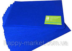 Фоамиран темно-синий 20 листов (1мм/20x30см) 7710