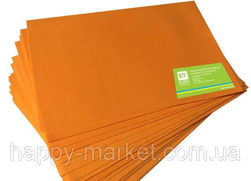 Фоамиран оранжевый 20 листов (1мм/20x30см), фото 2
