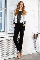 Элегантные классические брюки. Цвет черный.