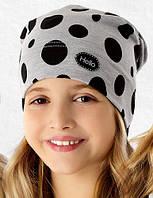 Демисезонная весенняя шапочка для девочки Линда, Marika (Польша)
