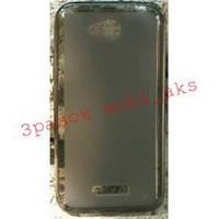 Накладка Florence силиконовая HTC Desire 616 чёрная