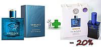 Versace Eros 100 ml + подарочный набор Versace Eros 50 ml