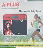 Напольные мини электронные весы А-Плюс  Sc-1642 до 180 кг, фото 4