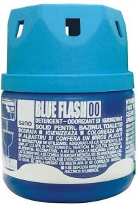 Бачок для мытья унитаза синий SANO 200 гр.,арт: 025108