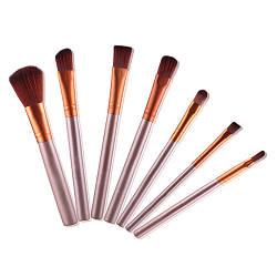 Качественные кисти для макияжа, набор 7 штук.