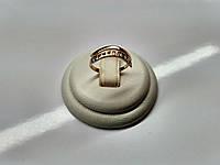 Элегантное женское золотое кольцо 585* пробы