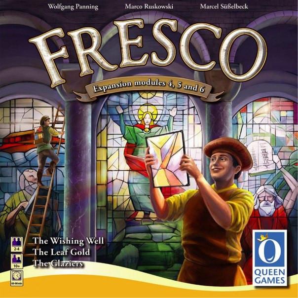 Настольная игра Fresco The Glaziers. Expansion with modules 4,5,6(Фреска)