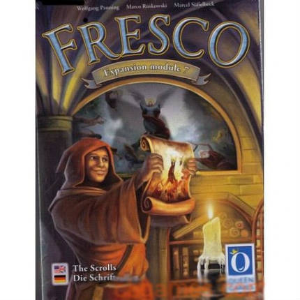 Настольная игра Fresco The Scrolls.Expansion Module 7 (Фреска), фото 2