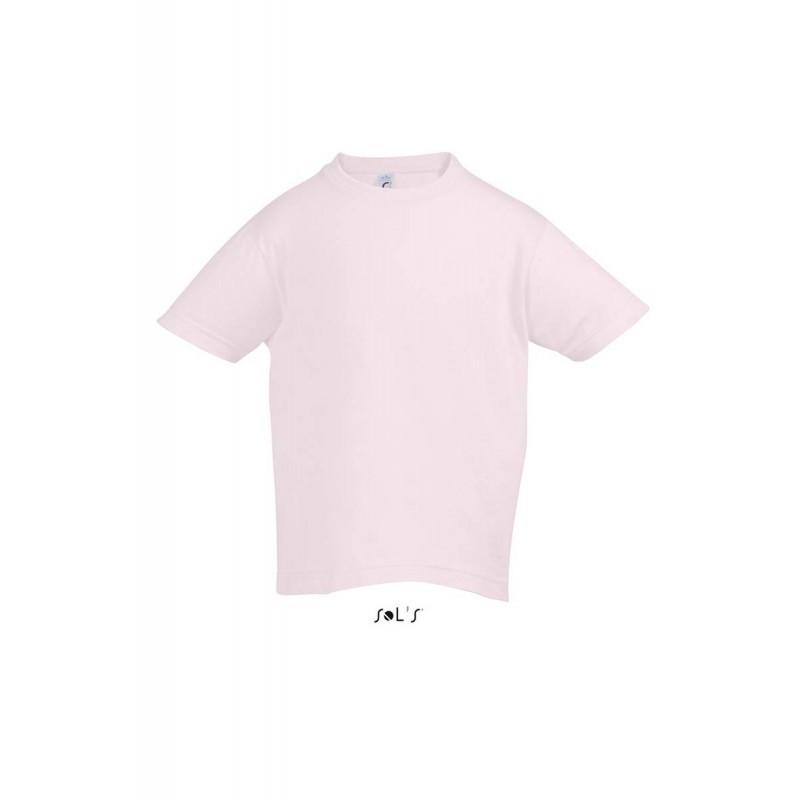 Футболка бледно-розовая Regent Kids, для детей от 2 до 12 лет