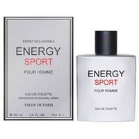 Новая Заря Energy Sport (Энерджи Спорт) EDT 100ml