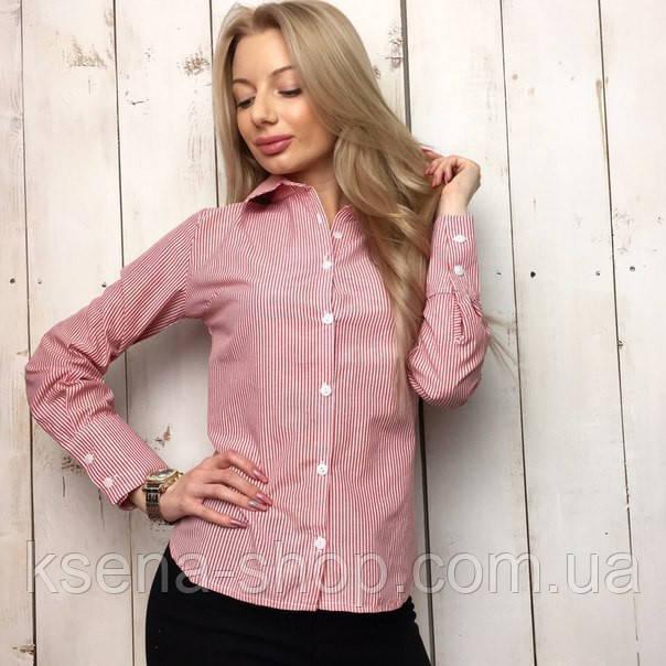 Купить Рубашка женская удлиненная в полоску в Одессе от компании ... d3fc42186006e