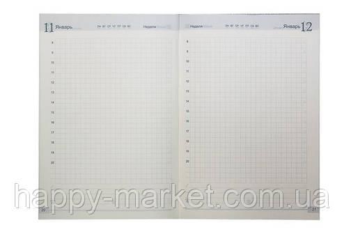Ежедневник полудатированный (A5) WB-5530 RUS (одноцветная печать, 2 карты, 196 листов), фото 2