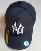 """Кепка подростковая  """"Нью Йорк"""". Размер  54-55 см. Темно-синий. Оптом."""