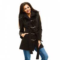 Пальто женское кашемировое утепленное Дуэт,верхняя одежда женская