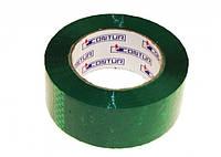 """Скотч """"Contur"""" зеленый(150 м.)"""