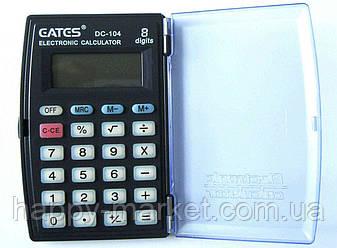 """Калькулятор """"EATES"""" DC-104 (8 розрядний, з кришкою, 1 харчування), фото 2"""