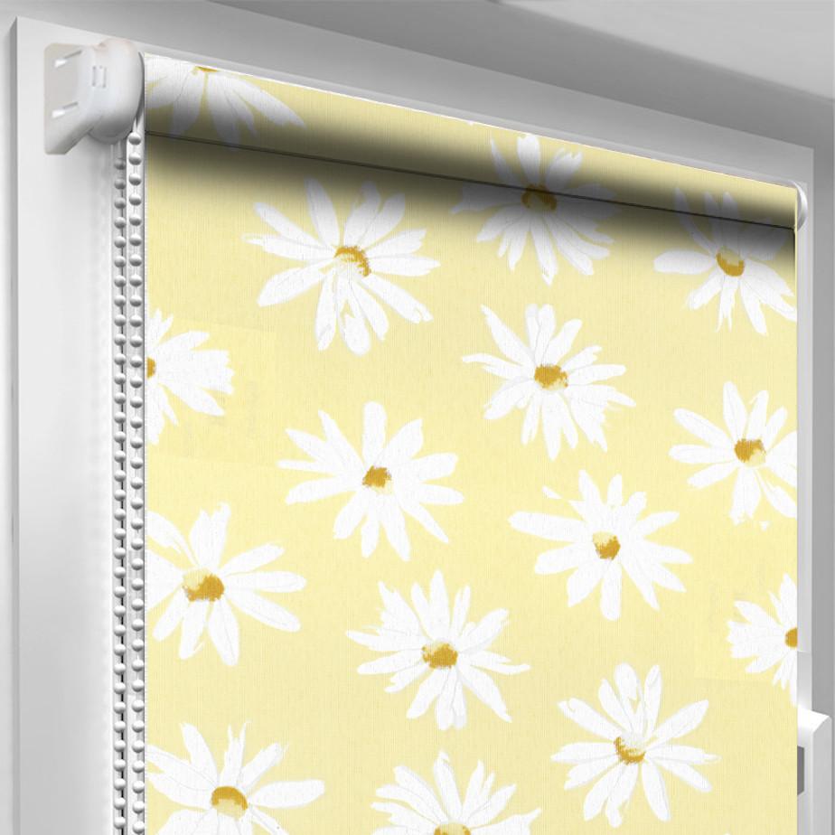 Рулонная штора DecoSharm В338 Жёлтая