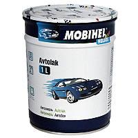 Автоэмаль алкидная 000 Черный матовый Mobihel однокомпонентная 0,6л
