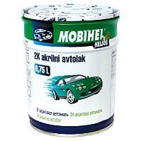 Автоэмаль 2К акриловая 456 Темно-синяя Mobihel двухкомпонентная 0,75л