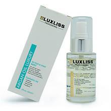 LUXLISS спрей на основе арганового масла (De Frizz& Shine Mist Argan Oil Luxury), 60 мл