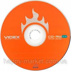 """Диск CD-RW """"Videx"""" 700mb 4-10x (bulk-50 шт.)"""