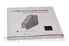 Лоток для паперу 307-A (1 секція вертикальний металева сітка)