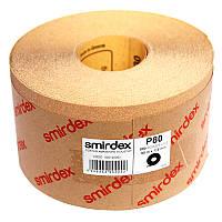 Наждачная бумага Smirdex 820 Power Line в рулонах 116ммх25м (50 м), Р=80