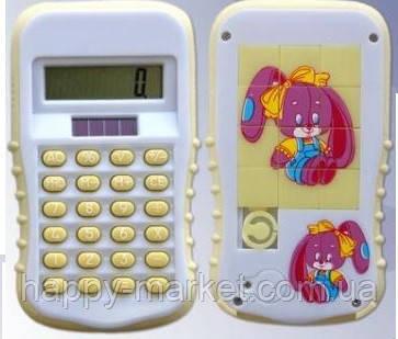 """Калькулятор LB-8397 """"Детский с пятнашками"""""""