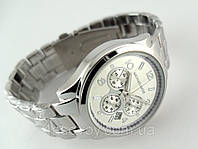 Часы женские в стиле Michael Kors цвет платина