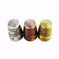 Наперсток металлический (цвет-серебро)